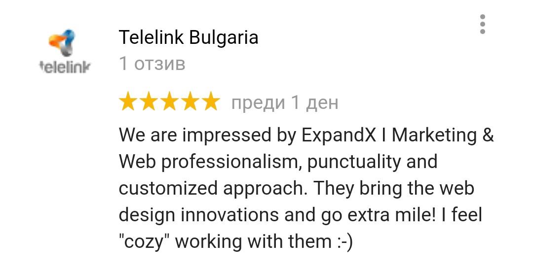 ExpandX Telelink Testimonials