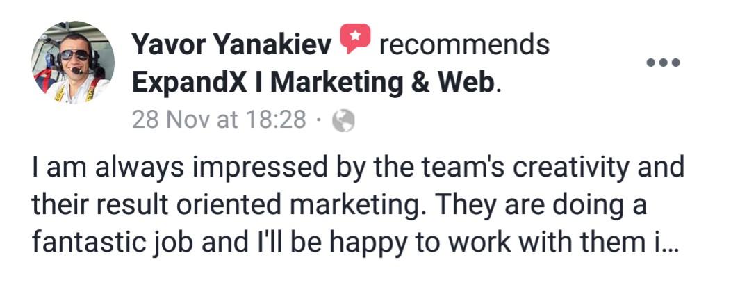 ExpandX Clients Testimonials