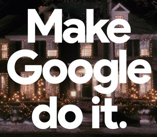 Google's Home Alone Edition