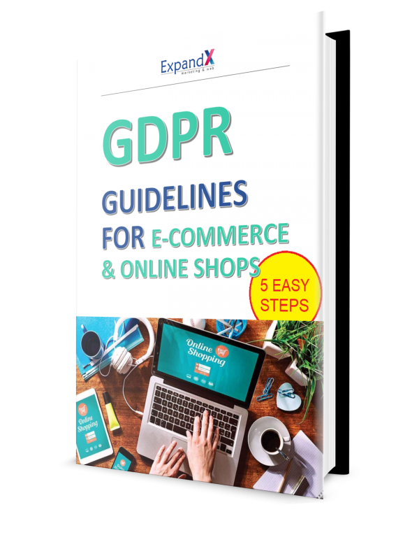 GDPR Guidelines Book for Online Shops (5 Easy Steps)