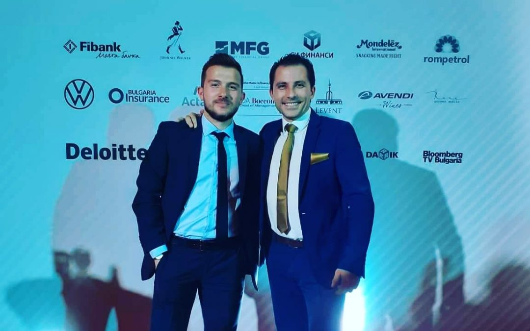 "ExpandX Marketing & Web at the awards ceremony ""Manager of the Year"" 2019"