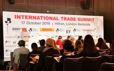 ExpandX Marketing & Web at BCC International Trade Summit 2019 London