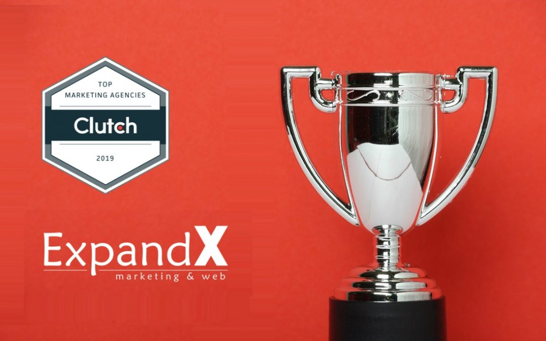 ExpandX Marketing & Web winner of the 2019 Global Leader Awards by Clutch