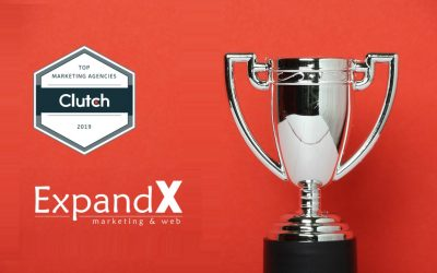 ExpandX Marketing & Web отличен в 2019 Global Leader Awards на Clutch