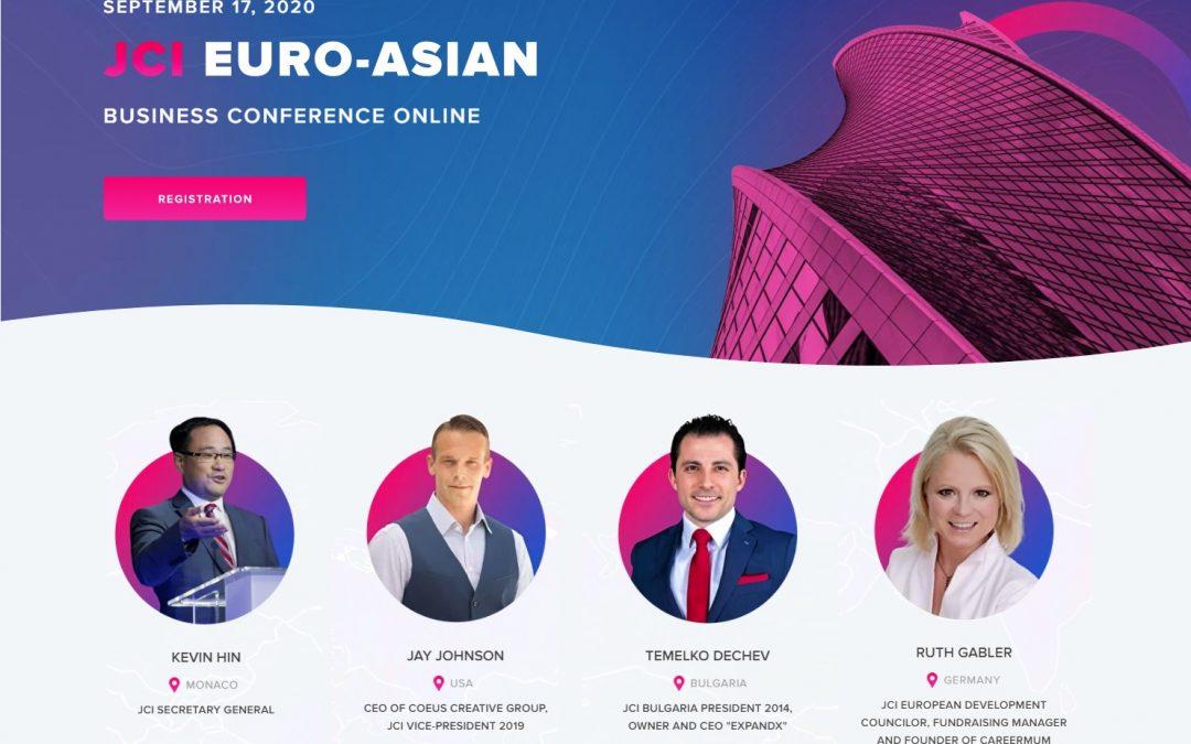 Temelko Dechev, CEO, ExpandX, JCI, Conference, 2020, Business, Marketing, Entrepreneur, Leader, EU, Asia,