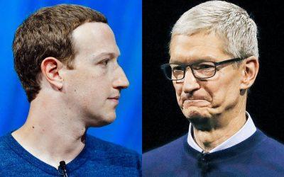 Facebook срещу Apple – ето какво трябва да знаете за тяхната битка при рекламите