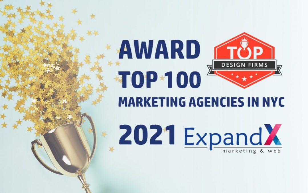 ExpandX Marketing & Web - Clutch Award Marketing Agency Firm NYC USA 2021